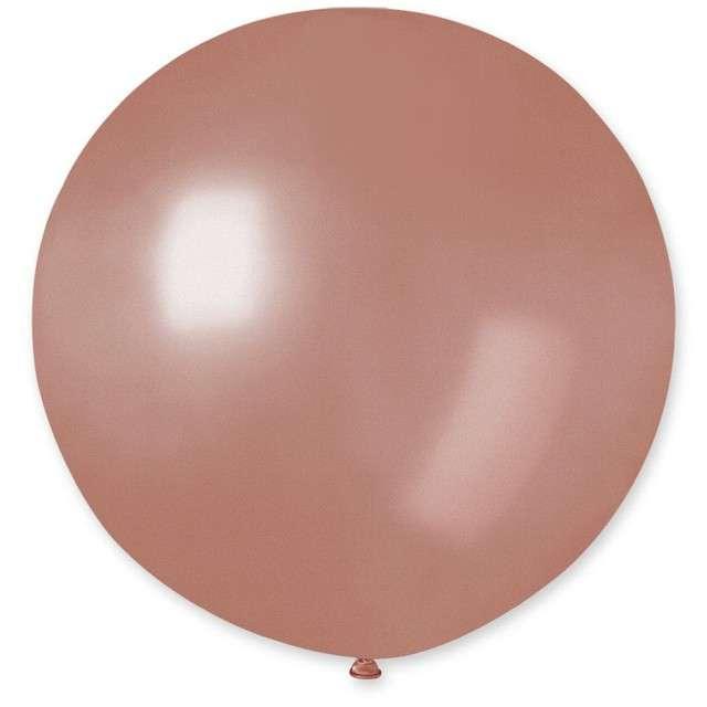 Balon Kula Duża różowo-złota Godan 26