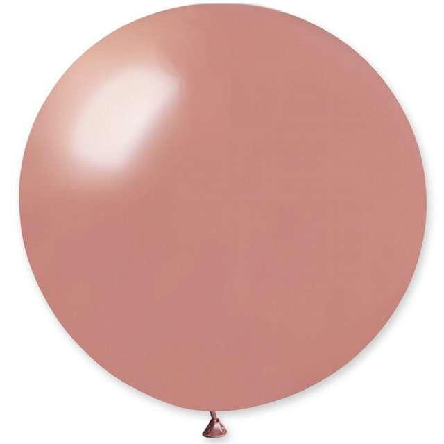 Balon Kula Olbrzym różowo-złota Godan 31