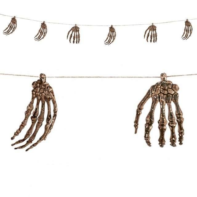 _xx_Girlanda ręce szkieleta 235 cm