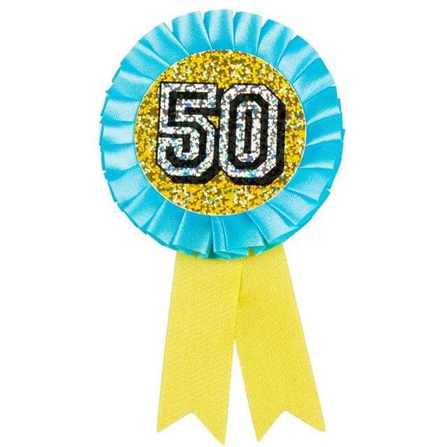 _xx_Kotylion urodzinowy 50 holograficzny