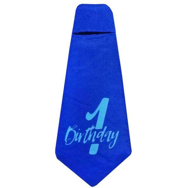 """Krawat """"Moje 1 Urodziny - błękitny"""", Godan"""