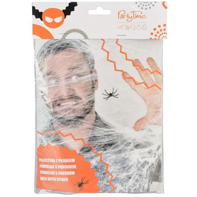 """Dekoracja """"Pajęczyna z pająkiem"""", Arpex, 20 g"""