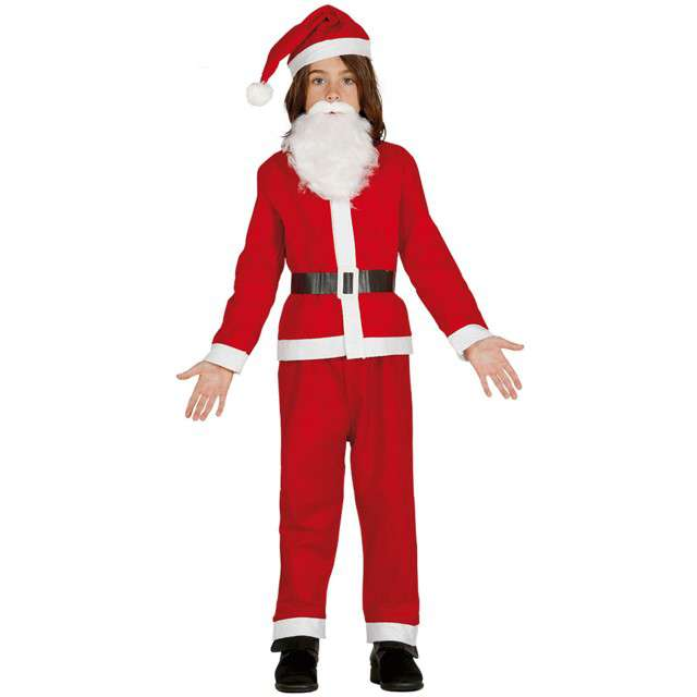 """Strój dla dzieci """"Święty Mikołaj"""", Guirca, rozm. 10-12 lat"""