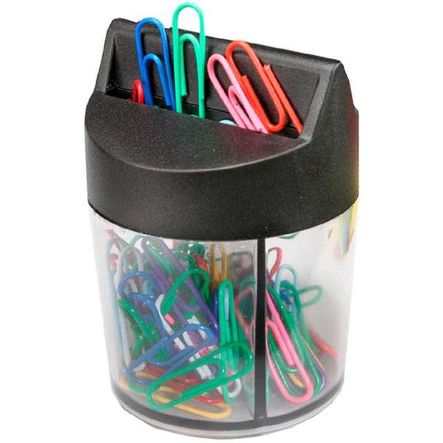 """Spinacze """"W pudełku magnetycznym"""", kolorowe, Titanum, 100 szt"""