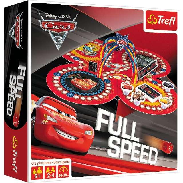 Gra planszowa Auta full speed Trefl