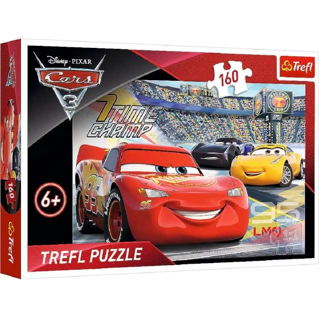 """Puzzle """"Auta rozgrywka"""", Trefl, 160 elementów"""