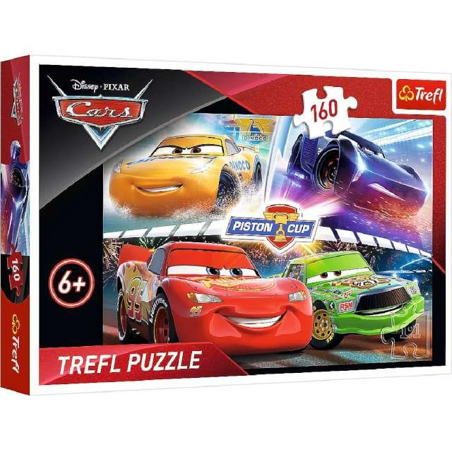 """Puzzle """"Auta wyścig"""", Trefl, 160 elementów"""