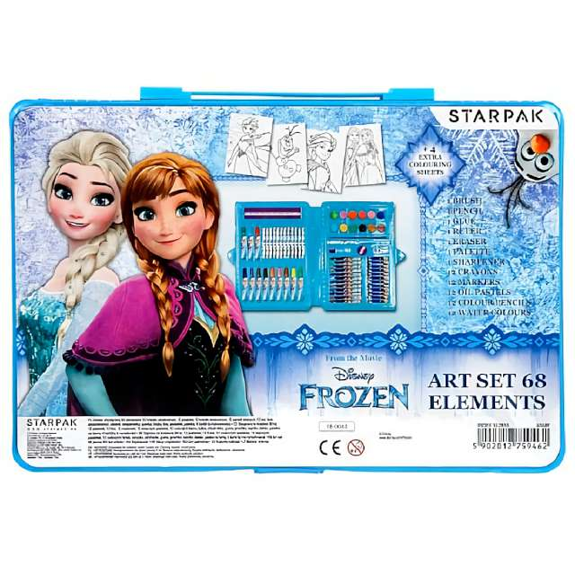 "Zestaw plastyczny ""Frozen Kraina Lodu"", 68 element., Starpak"