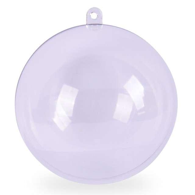 "Bombka do dekorowania ""Kula"", plastikowa, Arpex, 8 cm"
