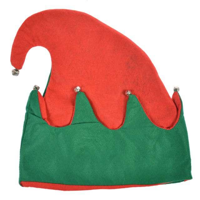 """Czapka """"Elf z dzwoneczkami"""", Arpex, 30 cm"""