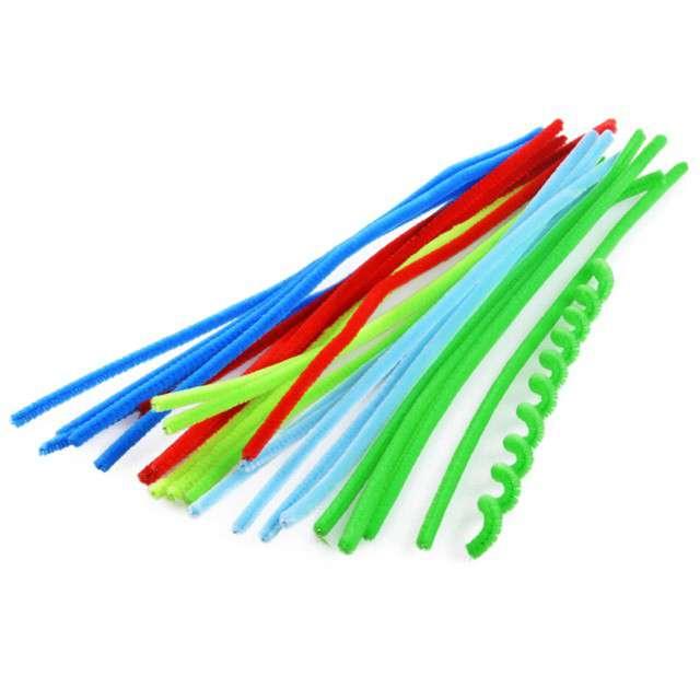 Druciki kreatywne Wyciory mix pastelowy Arpex 30 cm 25 szt