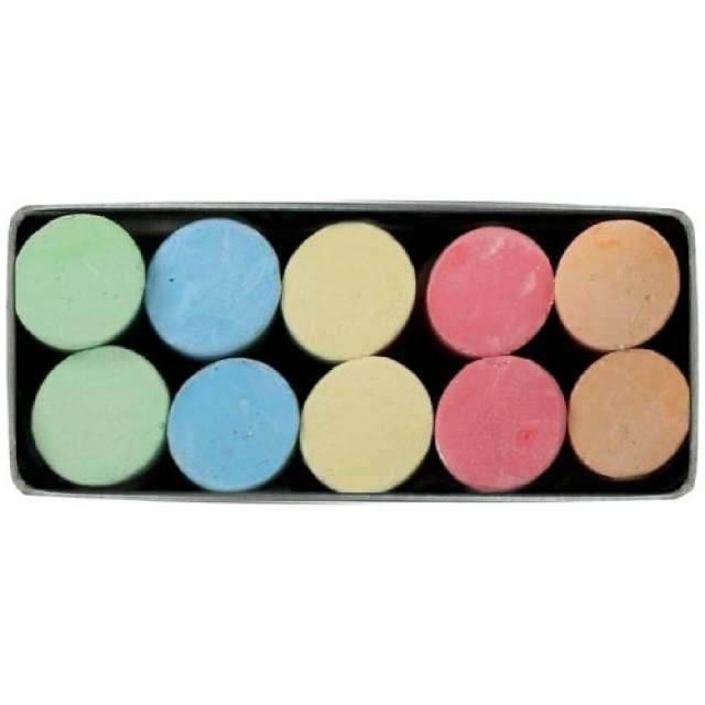 Kreda Classic Color Titanum 10 mm / 10 szt