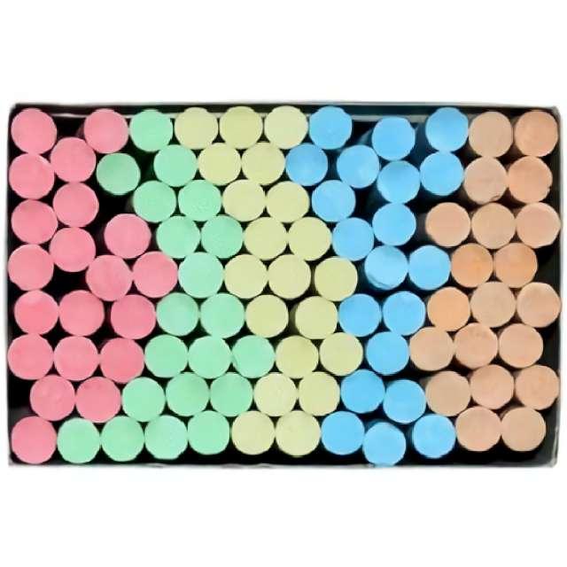 Kreda Classic Color Titanum 10 mm / 100 szt