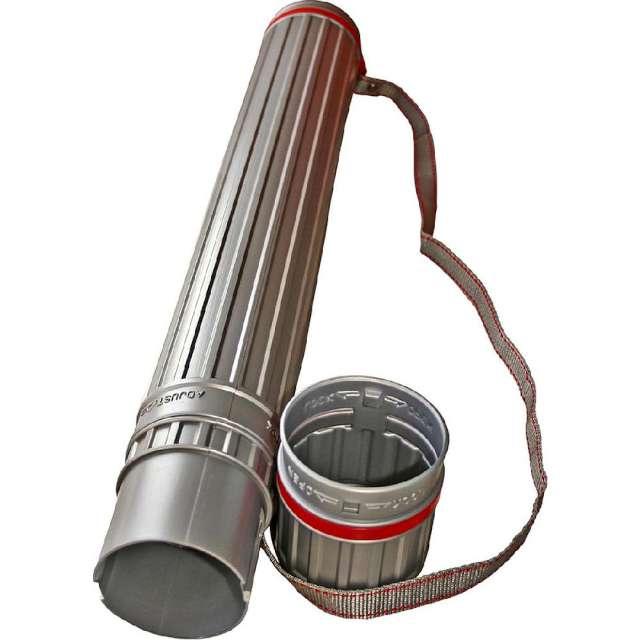 Tuba kreślarska Regular XL szara Titanum 60-110x85 cm