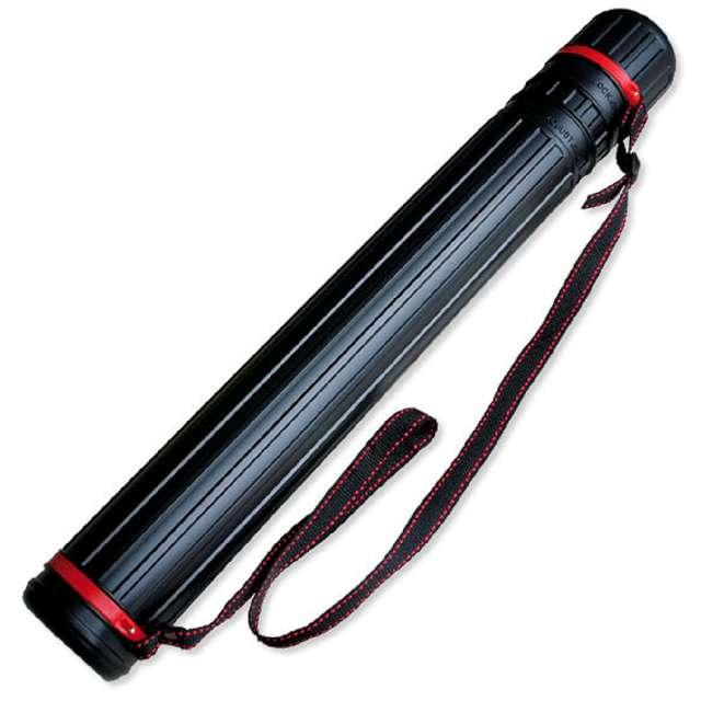 Tuba kreślarska Regular XL czarna Titanum 60-110x85 cm
