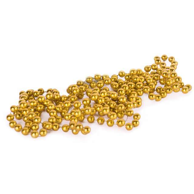 """Łańcuch choinkowy """"Złote korale"""", 8 mm, Arpex, 270 cm"""