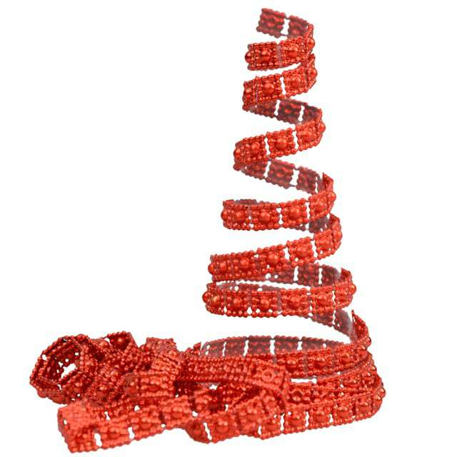 """Łańcuch choinkowy """"Czerwony pasek"""", Arpex, 270 cm"""