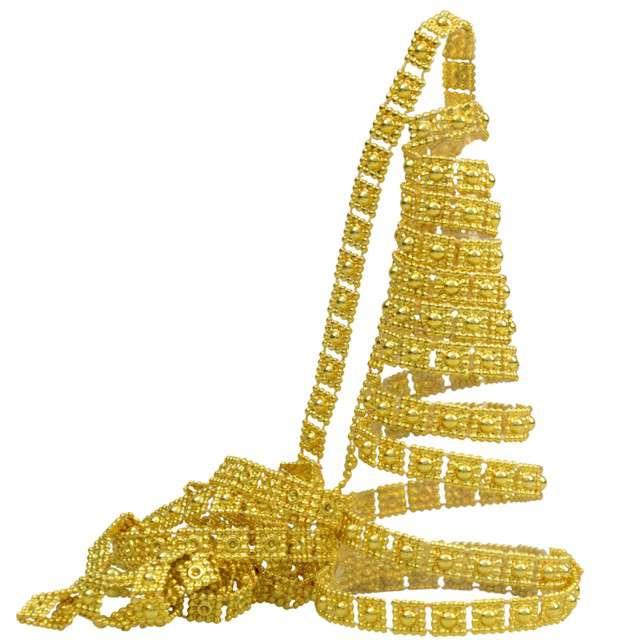 Łańcuch choinkowy Złoty pasek Arpex 270 cm