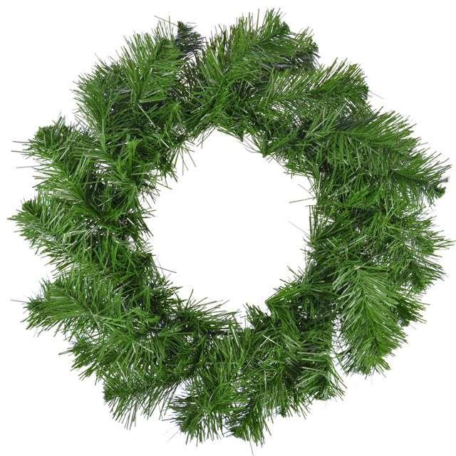 """Dekoracja """"Wieniec świąteczna jodła"""", Arpex, 35 cm"""