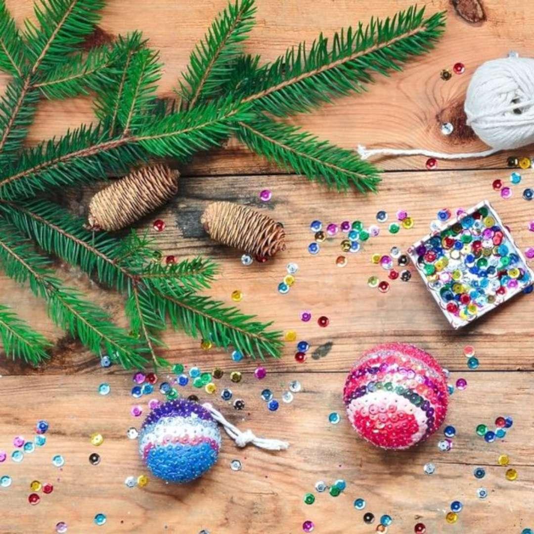Konfetti Świąteczne cekiny mix Arpex 15 g