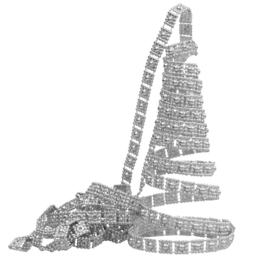 "Łańcuch choinkowy ""Srebrny pasek"", Arpex, 270 cm"