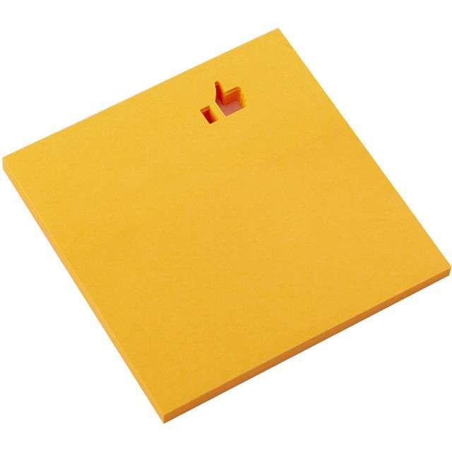 """Karteczki samoprzylepne """"Z wycięciem - Lubię to"""", D.RECT, 75 x 75 mm, 50 kartek"""