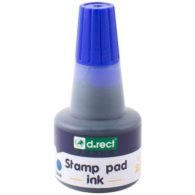 """Tusz do stempli """"D.RECT Water"""", 30 ml, niebieski"""