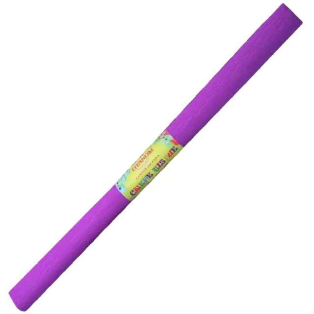 "Bibuła ""Marszczona"", fioletowa, Titanum, 50 x 200 cm"
