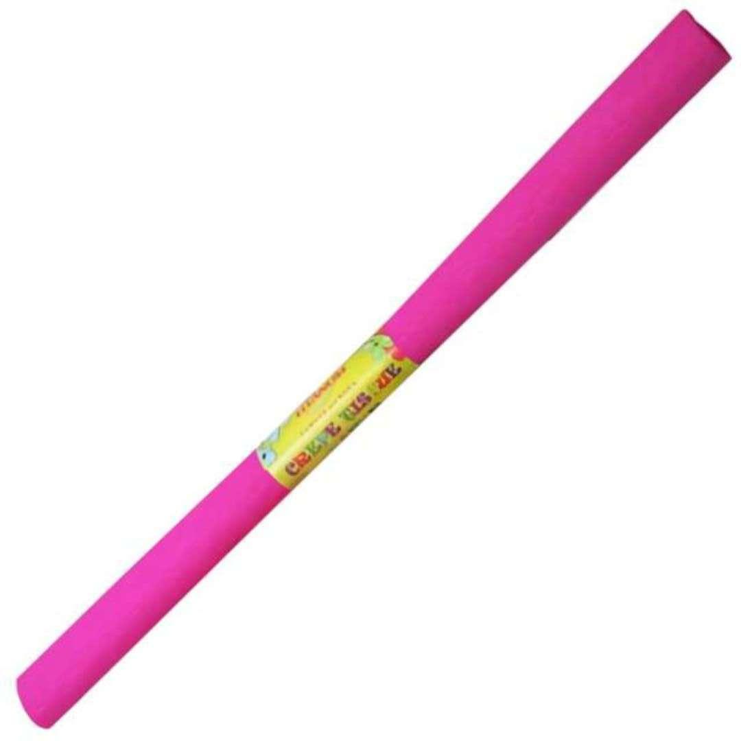 """Bibuła """"Marszczona"""", różowa, Titanum, 50 x 200 cm"""