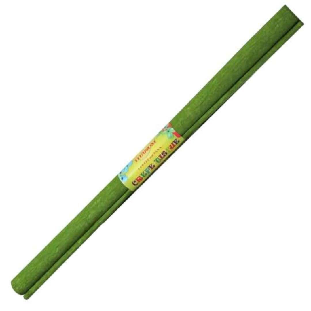 """Bibuła """"Marszczona"""", zielona, Titanum, 50 x 200 cm"""