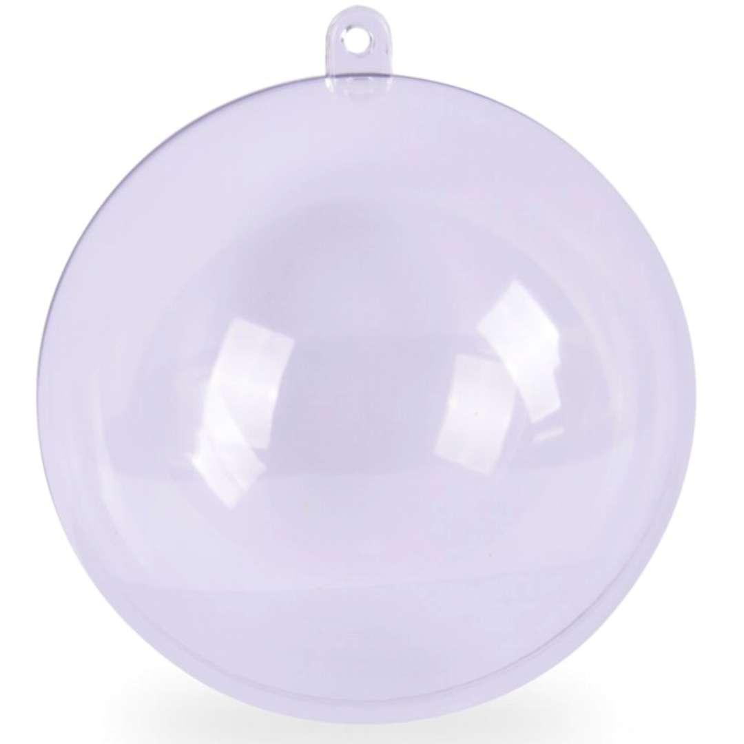 "Bombka do dekorowania ""Kula"", plastikowa, Arpex, 7 cm"