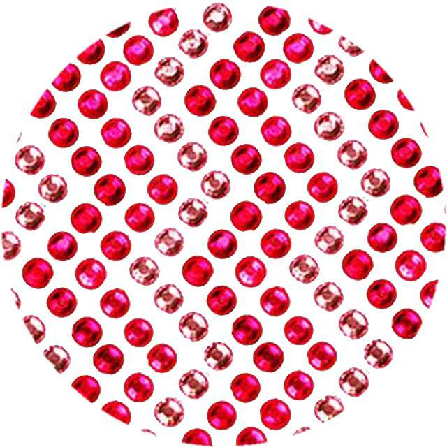 """Dżety samoprzylepne """"Kryształki"""", różowy mix, 138 szt, Titanum"""