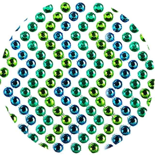 """Dżety samoprzylepne """"Kryształki"""", niebiesko-zielone, 138 szt, Titanum"""