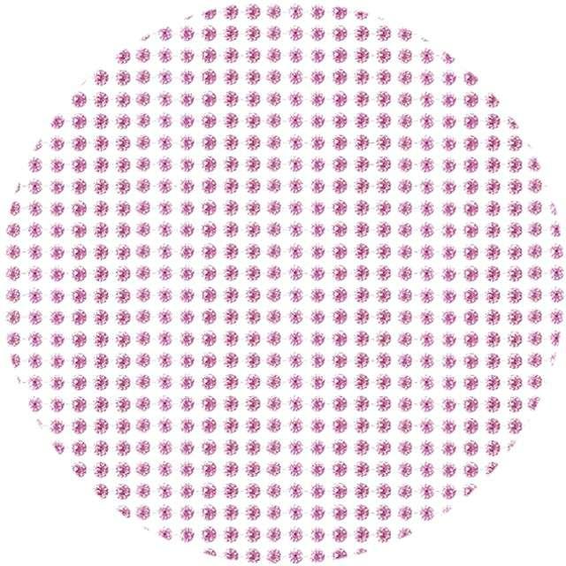 """Dżety samoprzylepne """"Kryształki"""", różowe, 4 mm, Titanum"""
