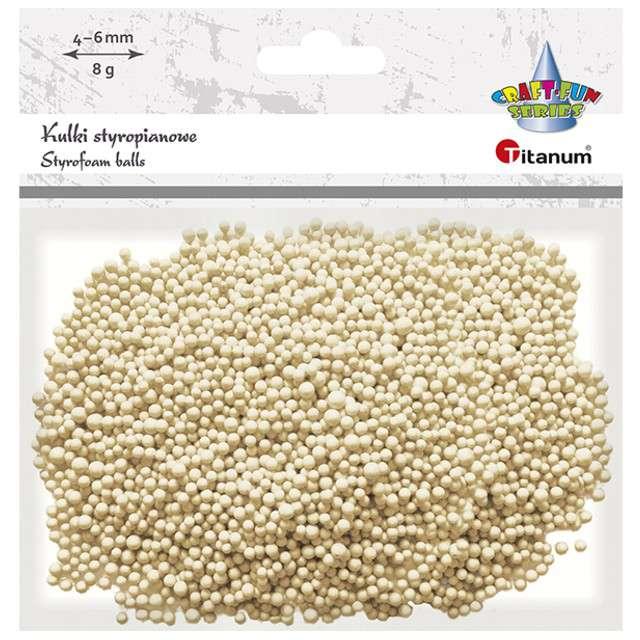 Styropian Kuleczki 4-6 mm łososiowe Titanum 8 g