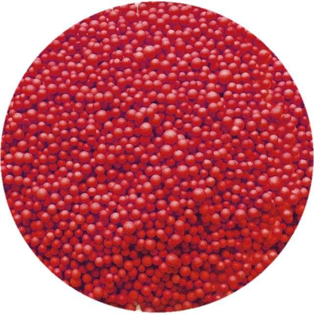 """Styropian """"Kuleczki 4-6 mm"""", czerwone, Titanum, 8 g"""