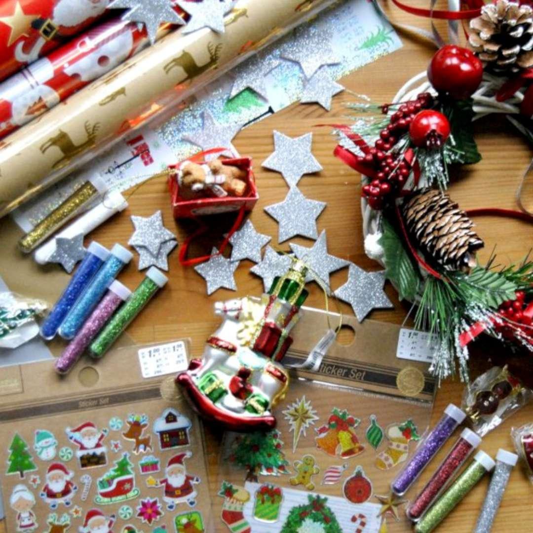 Zestaw Świąteczne dekoracje mix Arpex