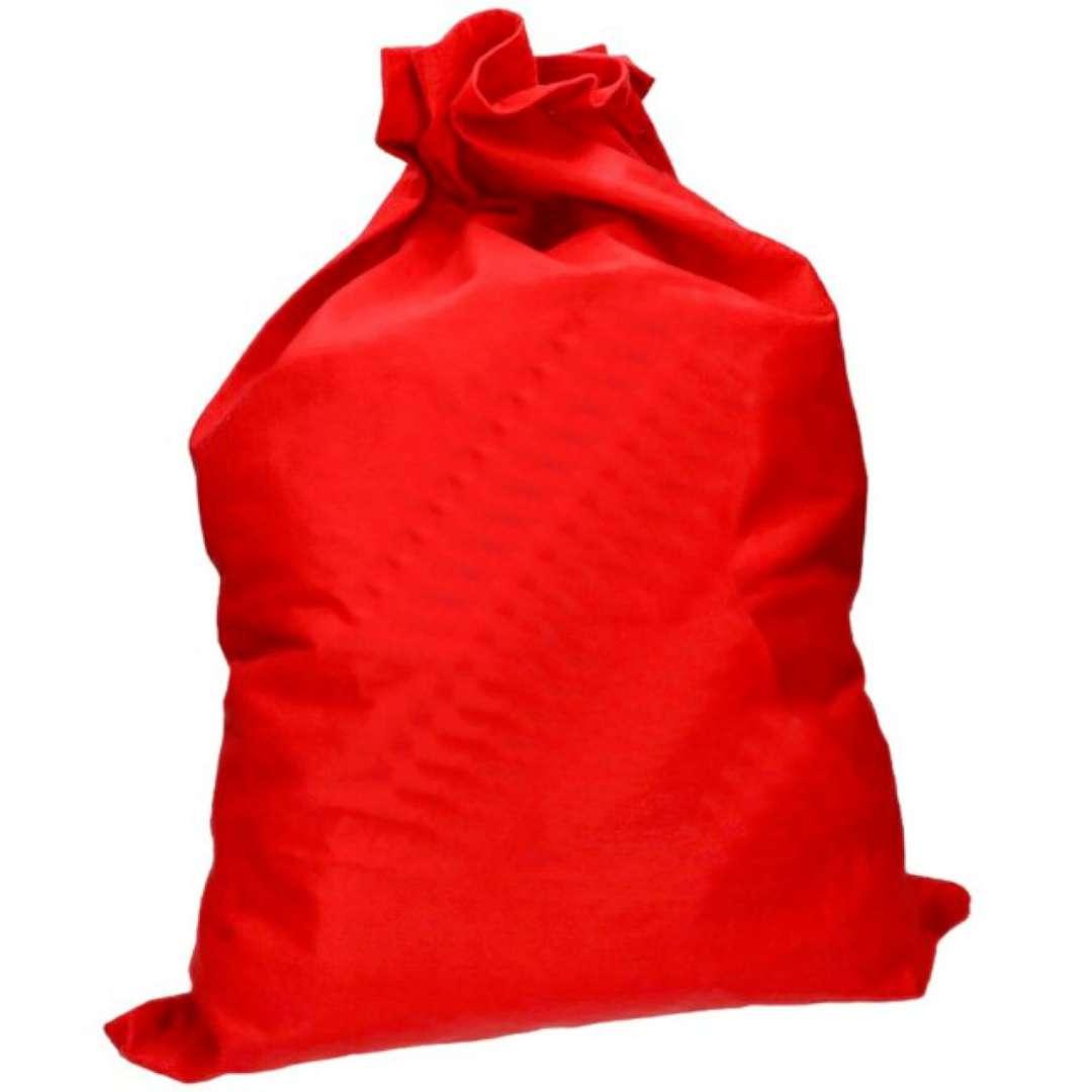 """Worek Mikołaja """"Św. Mikołaj MAX"""", czerwony, Arpex, 100 x 80 cm"""
