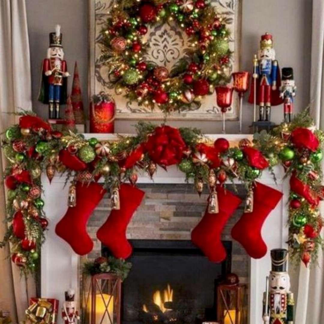 Girlanda świąteczna Świerkowy łańcuch Guirca 210 cm