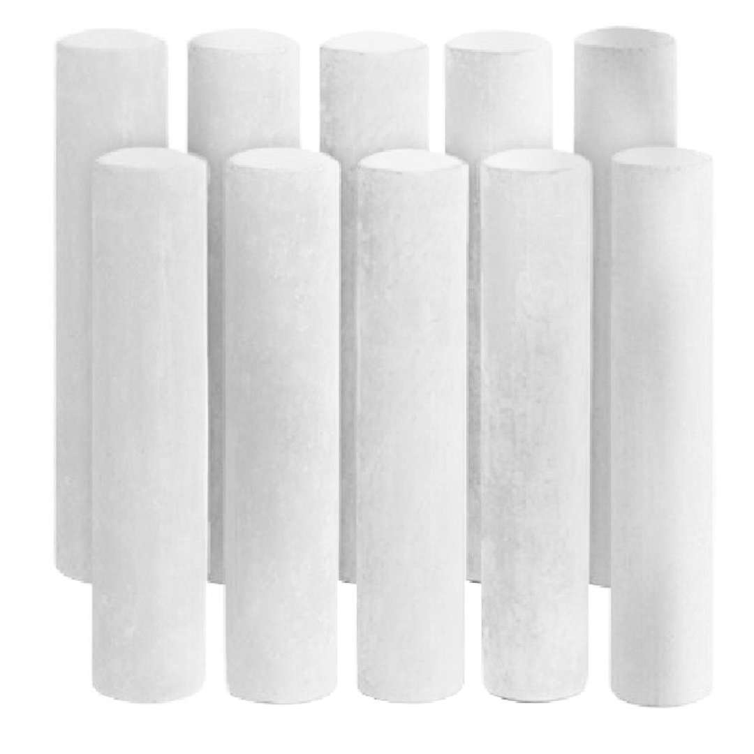 """Kreda """"Classic"""", biała, Titanum, 10 mm, 10 szt"""