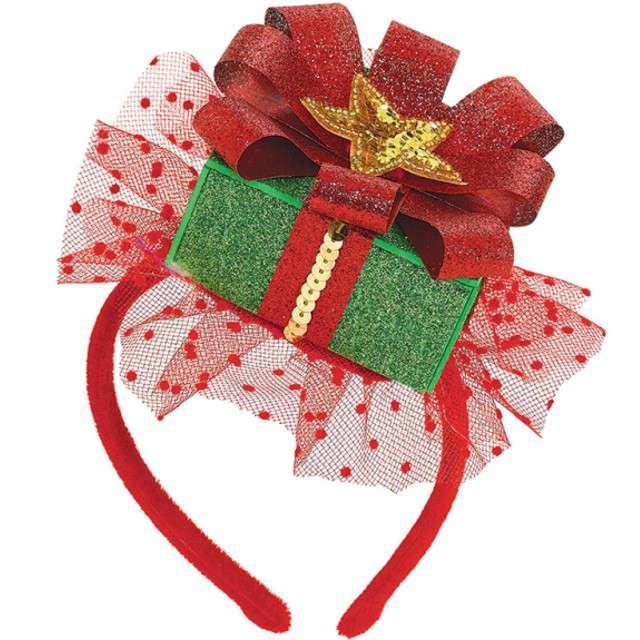 """Opaska party """"Świąteczny prezent"""", Amscan"""