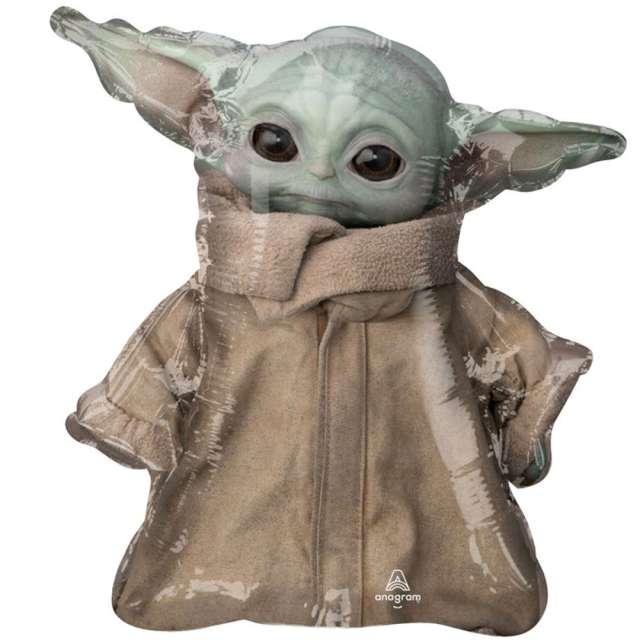 "Balon foliowy ""Baby Yoda - The Mandalorian"", Amscan, 14"" SHP"