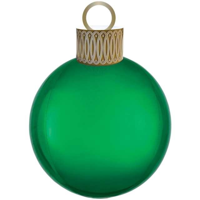 "Balon foliowy ""Bombka - Orbz XL"", zielony, Amscan, 38cm x 50cm, ORB"