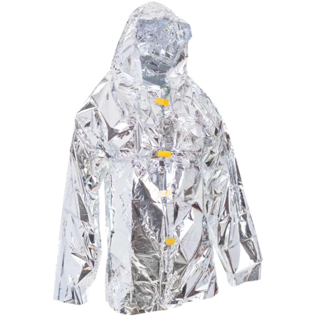 """Płaszcz termiczny """"Folia życia"""" z kapturem"""", GadgetMaster"""