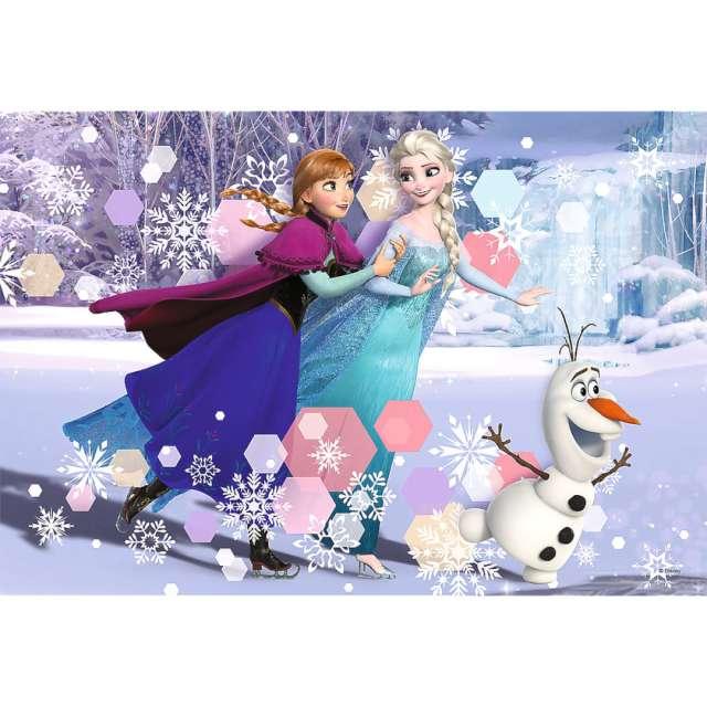 Puzzle Frozen jazda na łyżwach Trefl 160 elementów