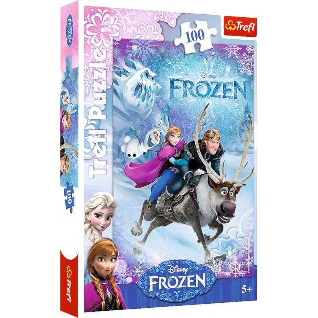 "Puzzle ""Frozen Na ratunek Annie"", Trefl, 100 elementów"