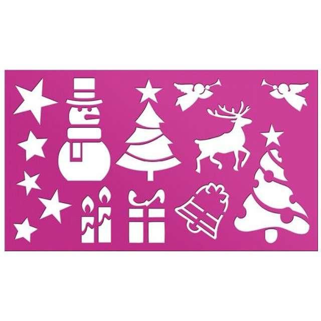 """Szablony dekoracyjne """"Boże Narodzenie - świąteczny mix"""", Titanum"""