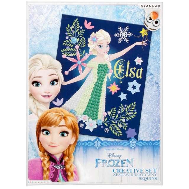 Zestaw kreatywny Frozen Kraina Lodu cekiny mix Starpak