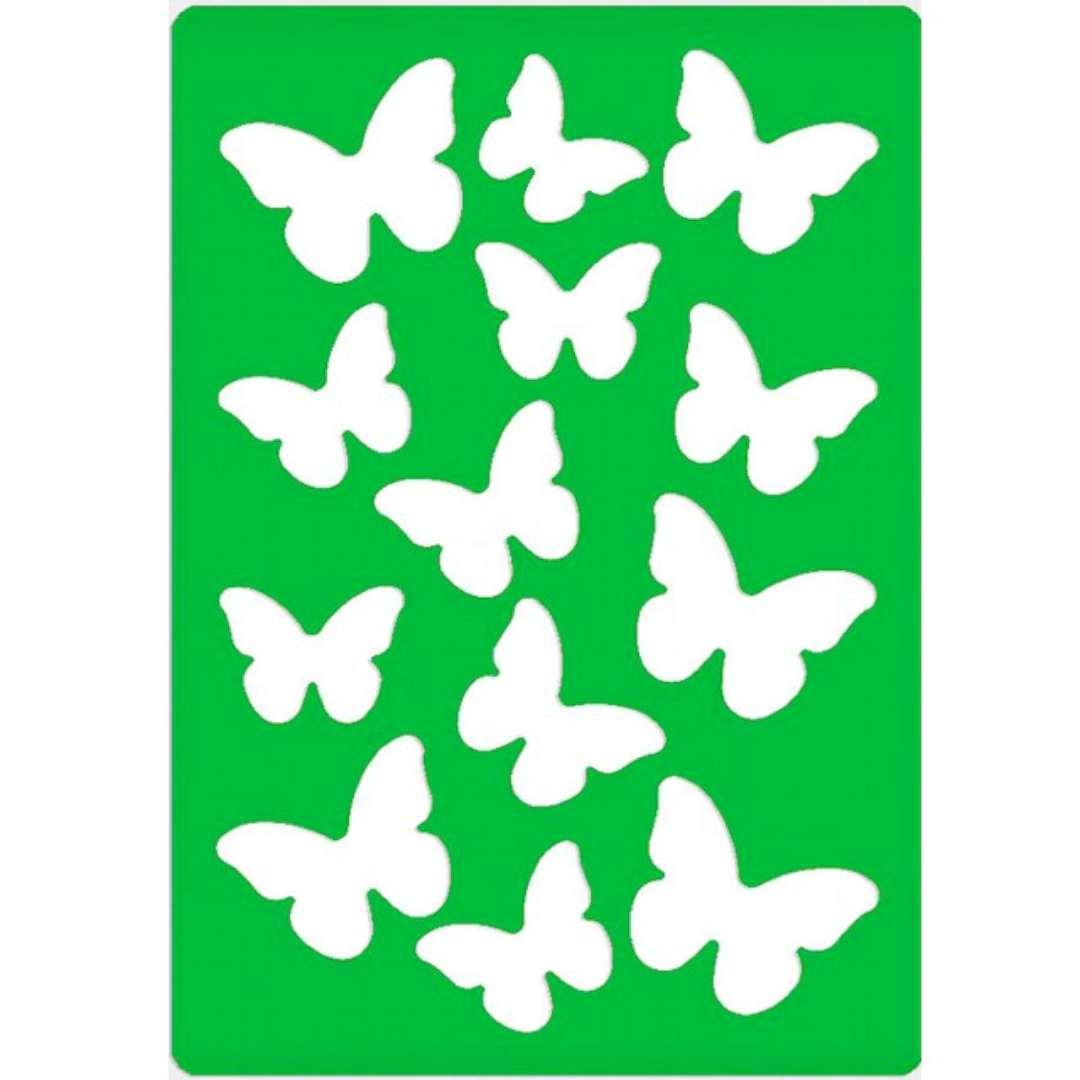 Szablony dekoracyjne Classic - motylki Titanum