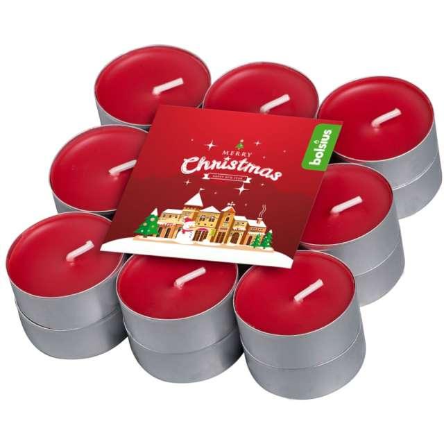"""Podgrzewacz zapachowy """"Merry Christmas - Wiśnia"""", Bolsius, 4h, 18 szt"""
